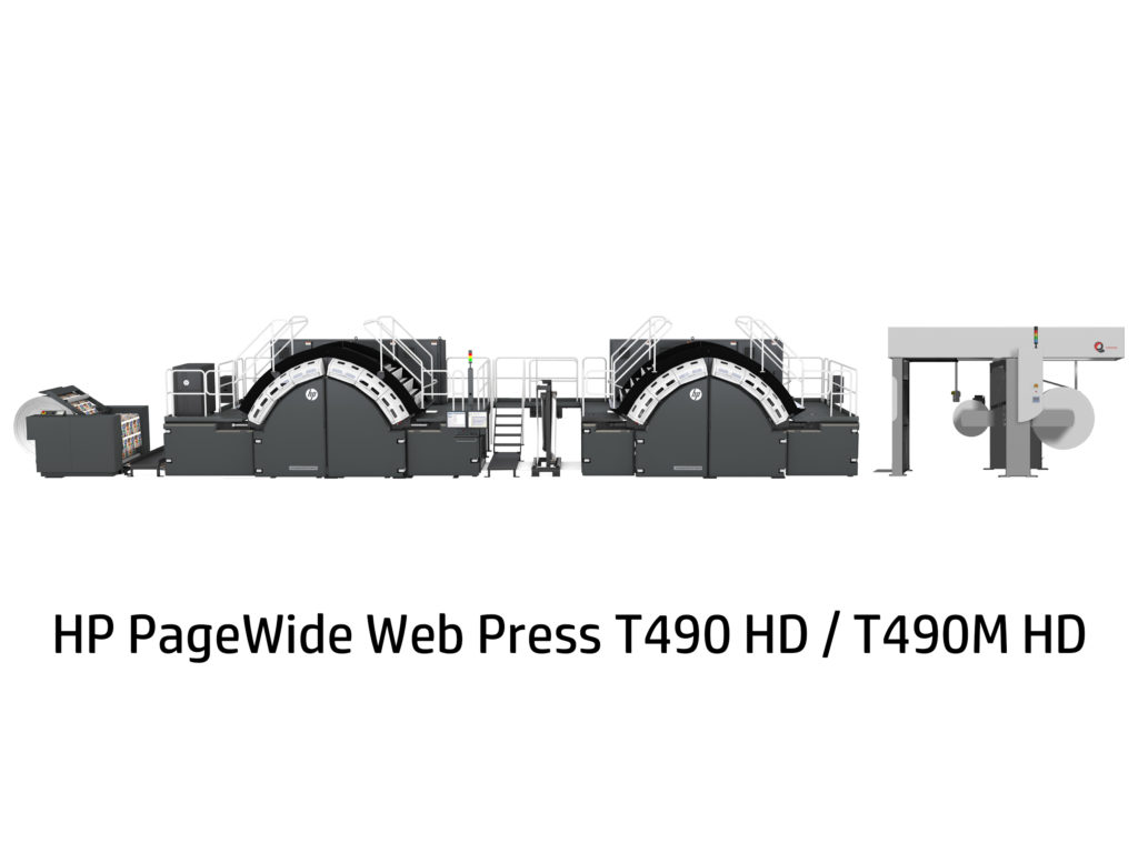 HP PageWide Web Press T490 HD/T490M HD