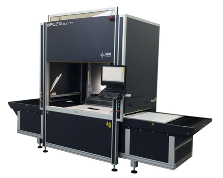 高性能レーザー加工機「FLEXI800」(イタリアSei LASER社製)
