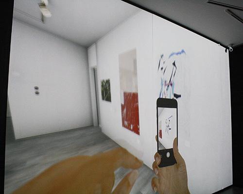 3D空間のバーチャルギャラリー