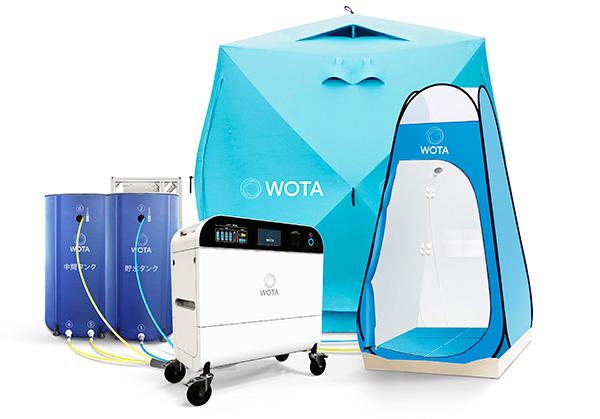 自律分散型水循環システム [WOTA BOX]